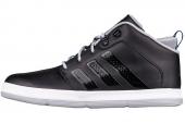 adidas G98246 X-Hale 2 Mid 黑色男子篮球鞋