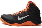NIKE 610202-006 Dual Fusion BB II 黑橙色男子篮球鞋