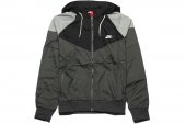 NIKE 596278-046 As RU Heritage Windrunner 灰黑色男子夹克