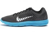 NIKE 554675-014  Lunaracer+ 3 登月科技黑灰色男子跑步鞋
