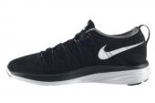 NIKE 620465-011 Flyknit Lunar 2 黑色男子跑步鞋