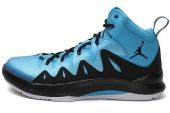 Jordan 639340-406 Jordan Prime Mania X 黑蓝色男子篮球鞋