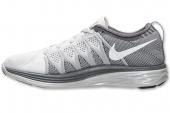 NIKE 620658-011 Flyknit Lunar 2 黑灰色女子跑步鞋