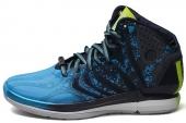 adidas G99362 D Rose 4.5 罗斯4.5代黑蓝色男子篮球鞋