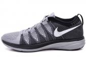 NIKE 620465-010 Flyknit Lunar 2 黑灰色男子跑步鞋