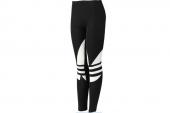 adidas F78221 PB Leggings 三叶草黑色女子打底长裤