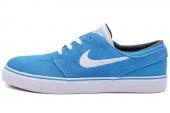 NIKE SB 333824-416 Zoom Stefan Janoski 蓝色男子休闲板鞋