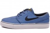 NIKE 616490-407 Zoom Stefan Janoski L SB 军械蓝色男子休闲板鞋