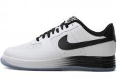 NIKE 629970-100 Lunar Force 1 NS Prm 黑白色男子休闲鞋