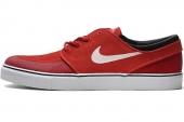 NIKE 631298-616 Zoom Stefan Janoski Prm SE 红色男子休闲板鞋