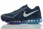 NIKE 621077-415 Air Max 2014 黑蓝色男子跑步鞋