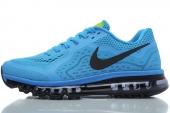 NIKE 621077-404 Air Max 2014  蓝色男子跑步鞋