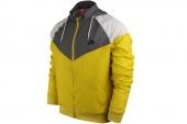 NIKE 596278-700  As RU Heritage Windrunner 灰黄色男子运动夹克