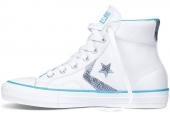 Converse 143020 Star Player 撞色拼接中性滑板鞋