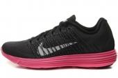 NIKE 554683-016 Wmns Lunaracer+3 黑红色女子跑步鞋