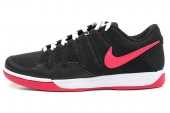 NIKE 511236-061 Zoom Vapor 9 Club CNVS 费德勒简版黑红色帆布网球鞋