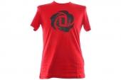 adidas D83165 Rose Logo Tee 2 罗斯红色男子针织T恤