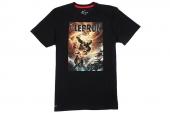 611256-010 Nike AS Lebron Hero Tee 詹姆斯黑色超级英雄主题T恤