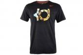 NIKE 611312-010 杜兰特黑色男子短袖T恤