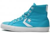 Converse 143995 Star Player 糖果蓝色中性帆布鞋