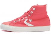 Converse 143994 Star Player 糖果粉色中性帆布鞋