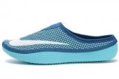 NIKE 555346-414 Solarsoft Mule 蓝色男子鸟巢拖鞋