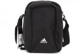 adidas F91384 Ecorg 黑色中性小肩包