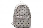 Converse 07735C108 匡威白色中性星星图案背包