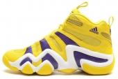 adidas G24829 Crazy 8 科比天足篮球鞋黄紫