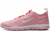 NIKE 641875-600 WMNS Free 5.0 TR Fit 4 Breath 粉红色女子训练鞋