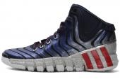 adidas G98405 adiPure Crazy Quick 学院藏青蓝男子篮球鞋