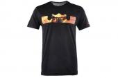 611246-010 Nike詹姆斯黑色男子短袖T恤