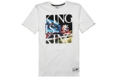 611345-100 Nike LBJ King Is King 詹姆斯白色短袖T恤