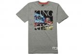 611345-063 Nike LBJ King Is King 詹姆斯灰色短袖T恤