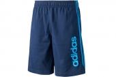 F48309 adidas 深蓝色男子篮球运动短裤