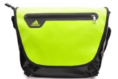 G91930 adidas  Mess M 绿黑色中性单肩包