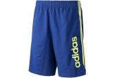F48308 adidas 军械蓝色男子运动篮球短裤