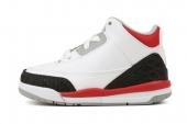 832033-120 Air Jordan 3 Retro (TD) 乔丹3代火焰红小童版