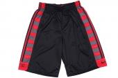 596383-016 Nike黑红色男子篮球短裤