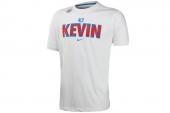 611321-100 Nike杜兰特白色男子针织短袖T恤