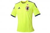 G74549 adidas2014巴西世界杯日本客场球衣足球服