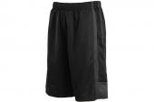 512911-010 Nike League Revrsible 黑灰色男子针织篮球短裤
