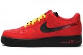 488298-617 Nike  Air Force 1 空军一号红色男子休闲板鞋