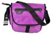 D87522 adidas  Mess S 紫色中性单肩包