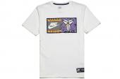 611349-100 Nike AS Kobe Jock Tag Teet 科比白色男子短袖T恤