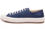 142664 Converse Jack Purcell 低帮绑带海军蓝色开口笑硫化鞋