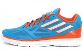 G99358 adidas Pro Smooth Lo 太阳能蓝男子篮球鞋