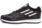 G98337 adidas Pro Smooth Lo 黑色男子篮球鞋
