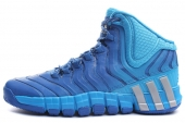 G99605 adidas adiPure Crazy Quick 2 太阳能蓝男子篮球鞋