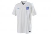 588101-105 Nike 2014世界杯英格兰主场短袖球衣足球服